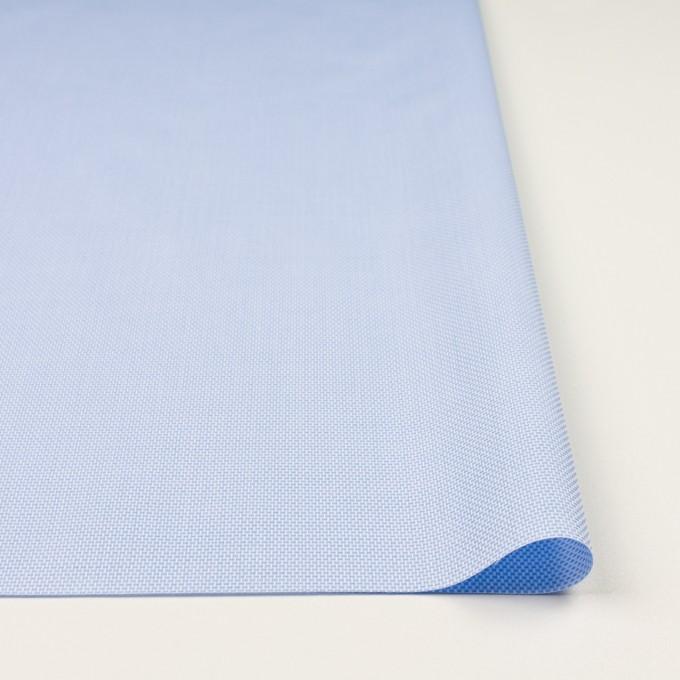 コットン×無地(ブルー)×斜子織 イメージ3