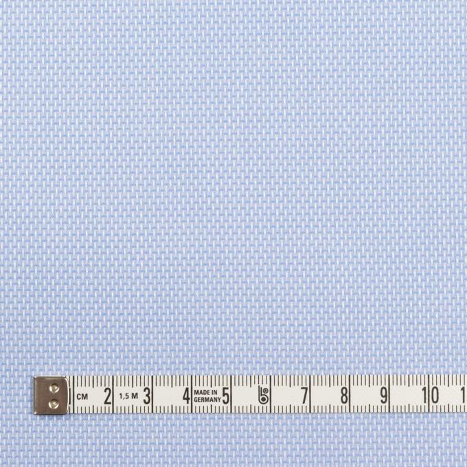 コットン×無地(ブルー)×斜子織 イメージ4