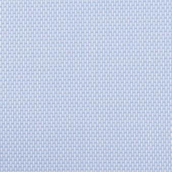 コットン×無地(ブルー)×斜子織