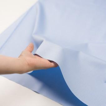 コットン×無地(ブルー)×斜子織 サムネイル5
