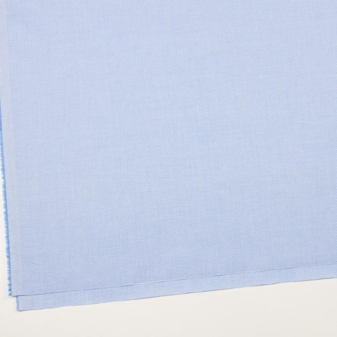 コットン×無地(ブルー)×斜子織 イメージ2