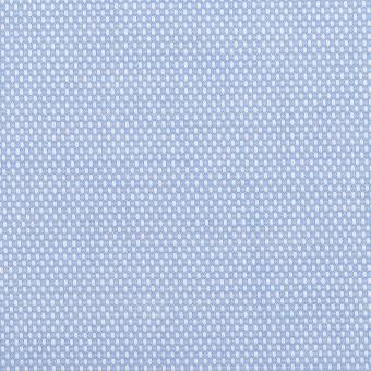 コットン×無地(ブルー)×斜子織 サムネイル1
