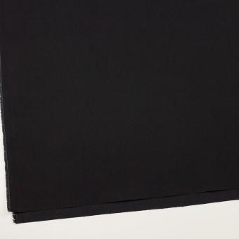 コットン&ポリウレタン×無地(ブラック)×カツラギ・ストレッチ サムネイル2