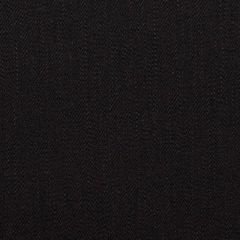 コットン&ポリウレタン×無地(ブラック)×カツラギ・ストレッチ サムネイル1