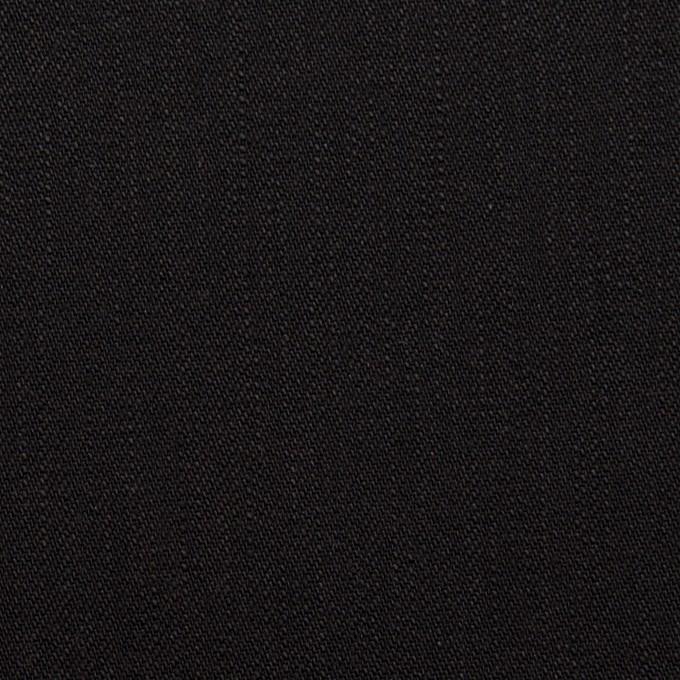 コットン&ポリウレタン×無地(ブラック)×カツラギ・ストレッチ イメージ1