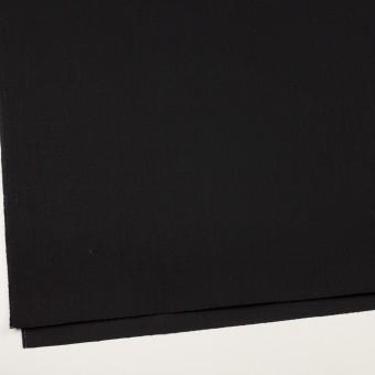 コットン×無地(ブラック)×カツラギ サムネイル2
