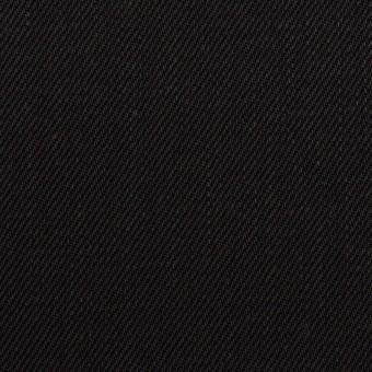 コットン×無地(ブラック)×カツラギ サムネイル1