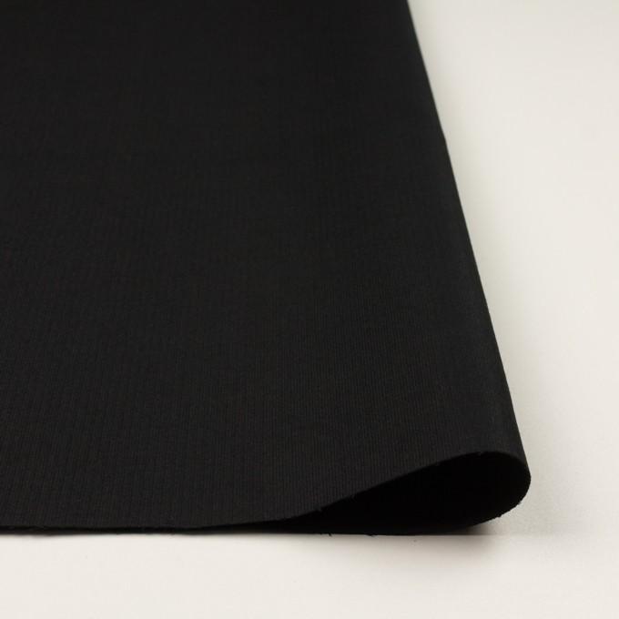 コットン×無地(ブラック)×グログラン イメージ3