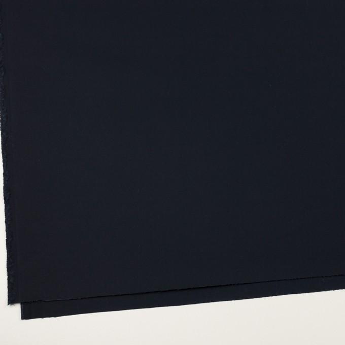 コットン×無地(ダークネイビー)×サテン イメージ2
