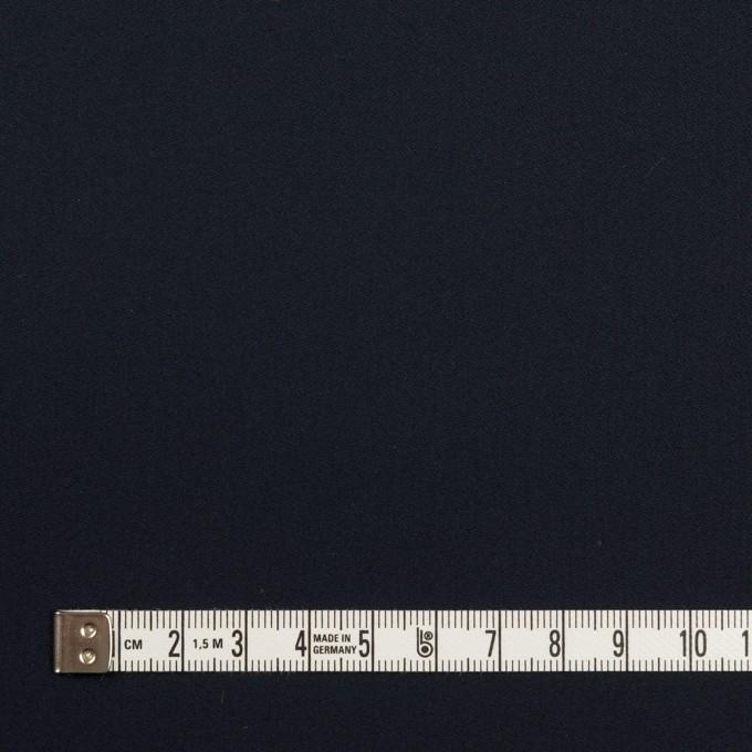 コットン×無地(ダークネイビー)×サテン イメージ4