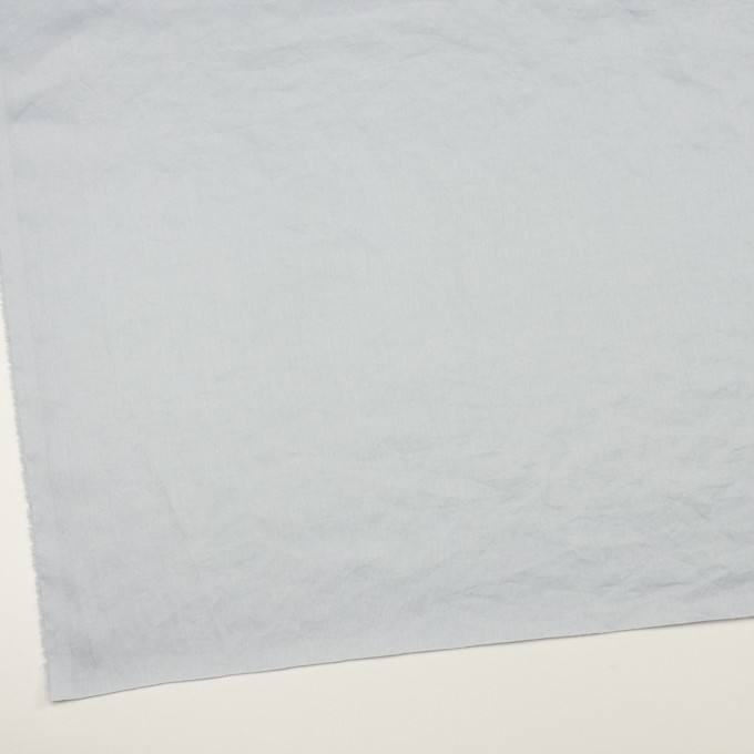 コットン×無地(ペールグレー)×サテンワッシャー_全14色 イメージ2