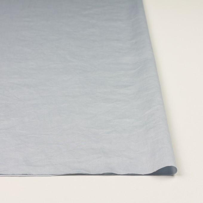 コットン×無地(ペールグレー)×サテンワッシャー_全14色 イメージ3