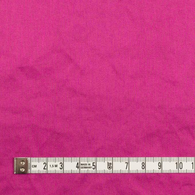 コットン×無地(チェリーピンク)×サテンワッシャー_全14色 イメージ4