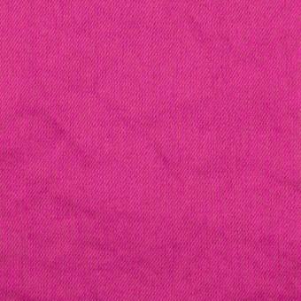 コットン×無地(チェリーピンク)×サテンワッシャー_全14色 サムネイル1
