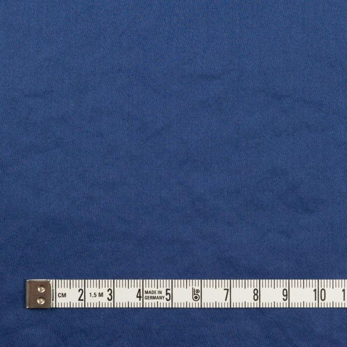 コットン×無地(マリンブルー)×サテンワッシャー_全14色 イメージ4