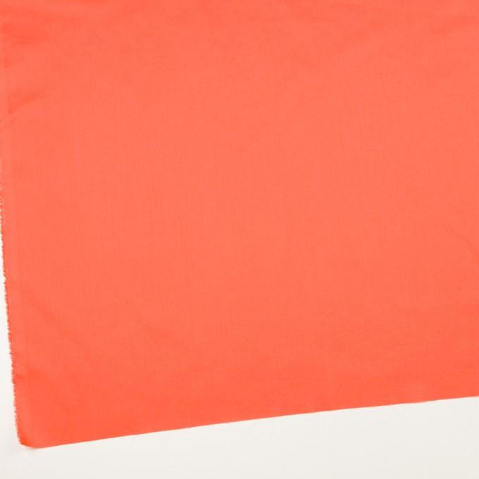 コットン×無地(オレンジ)×サテンワッシャー_全14色 イメージ2