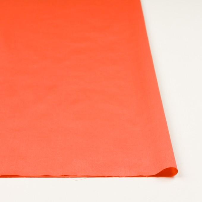 コットン×無地(オレンジ)×サテンワッシャー_全14色 イメージ3