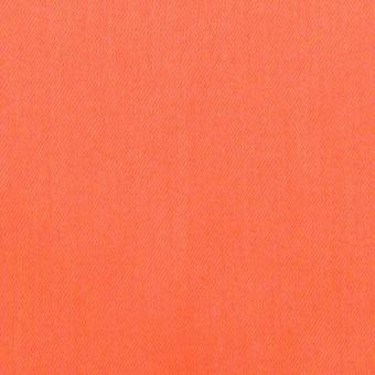 コットン×無地(オレンジ)×サテンワッシャー_全14色