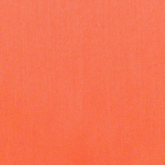 コットン×無地(オレンジ)×サテンワッシャー_全14色 イメージ1