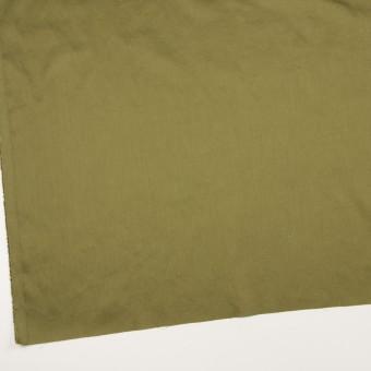 コットン×無地(カーキグリーン)×サテンワッシャー_全14色 サムネイル2