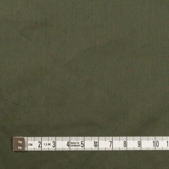 コットン×無地(モスグリーン)×サテンワッシャー_全14色 サムネイル4