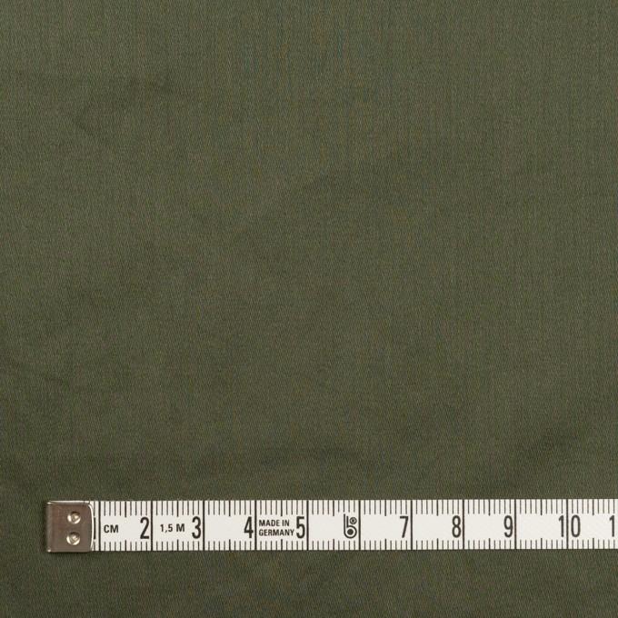 コットン×無地(モスグリーン)×サテンワッシャー_全14色 イメージ4