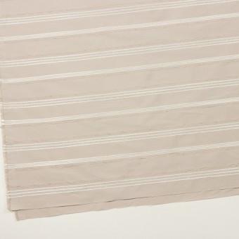 ポリエステル&レーヨン混×ボーダー(シルバーピンク)×形状記憶タフタジャガード サムネイル2