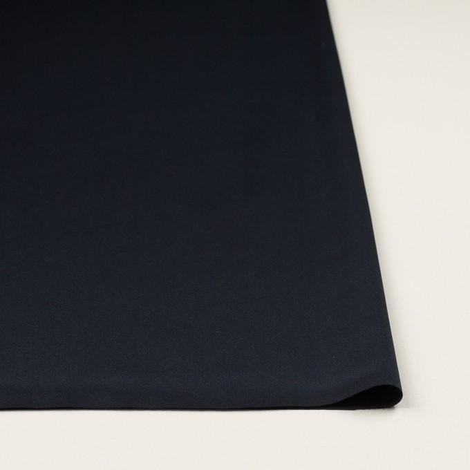 ポリエステル×無地(ネイビー)×サテン_全3色 イメージ3