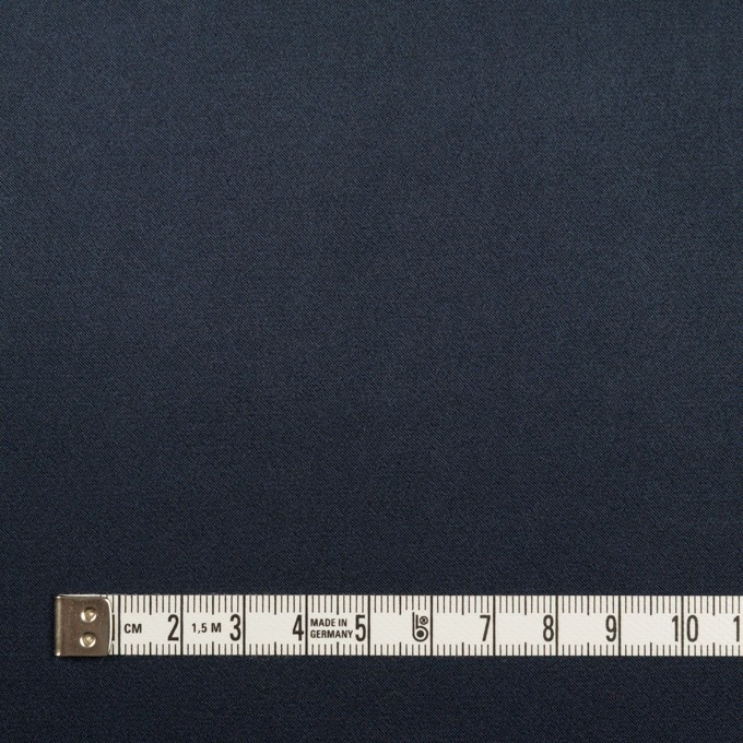 ポリエステル×無地(ネイビー)×サテン_全3色 イメージ4