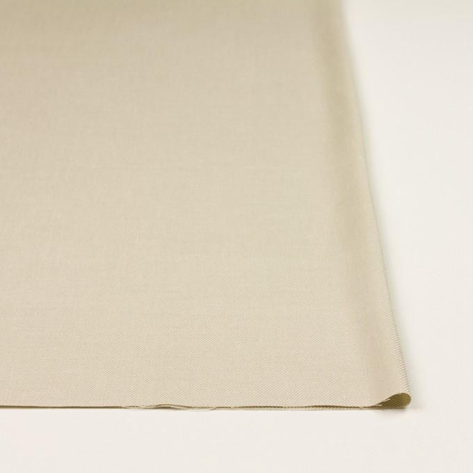 リネン&レーヨン混×無地(グレイッシュベージュ)×サージストレッチ_全4色 イメージ3