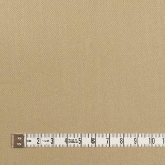 リネン&レーヨン混×無地(カーキベージュ)×サージストレッチ_全4色 サムネイル4