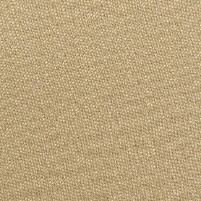 リネン&レーヨン混×無地(カーキベージュ)×サージストレッチ_全4色 イメージ1