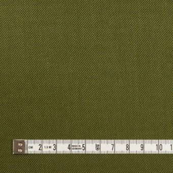 リネン&レーヨン混×無地(カーキグリーン)×サージストレッチ_全4色 サムネイル4