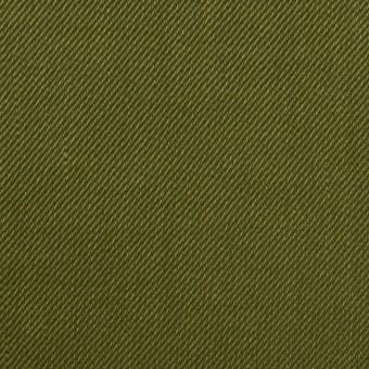 リネン&レーヨン混×無地(カーキグリーン)×サージストレッチ_全4色