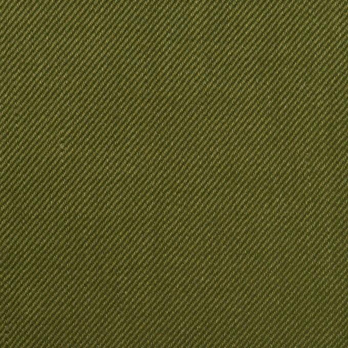 リネン&レーヨン混×無地(カーキグリーン)×サージストレッチ_全4色 イメージ1