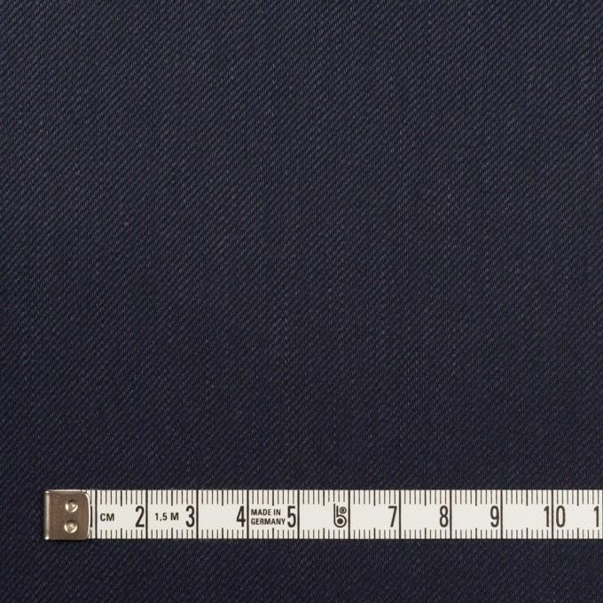 リネン&レーヨン混×無地(ネイビー)×サージストレッチ_全4色 イメージ4