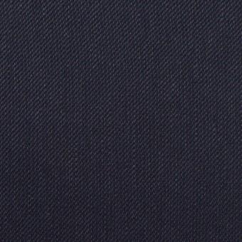 リネン&レーヨン混×無地(ネイビー)×サージストレッチ_全4色