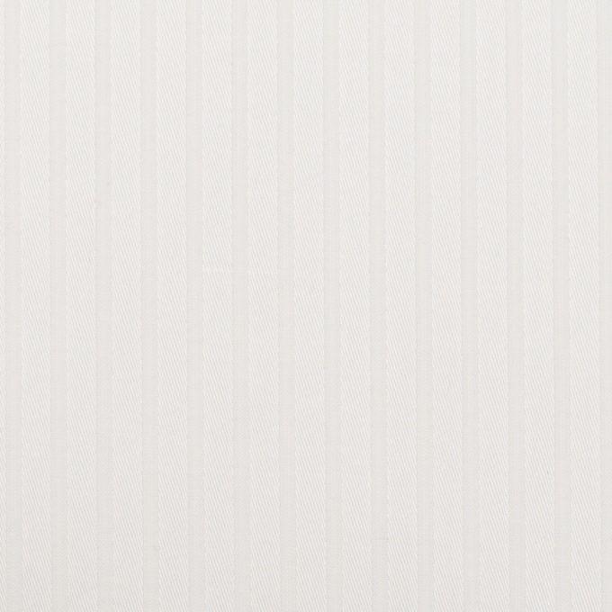 コットン×ストライプ(ホワイト)×ジャガード イメージ1