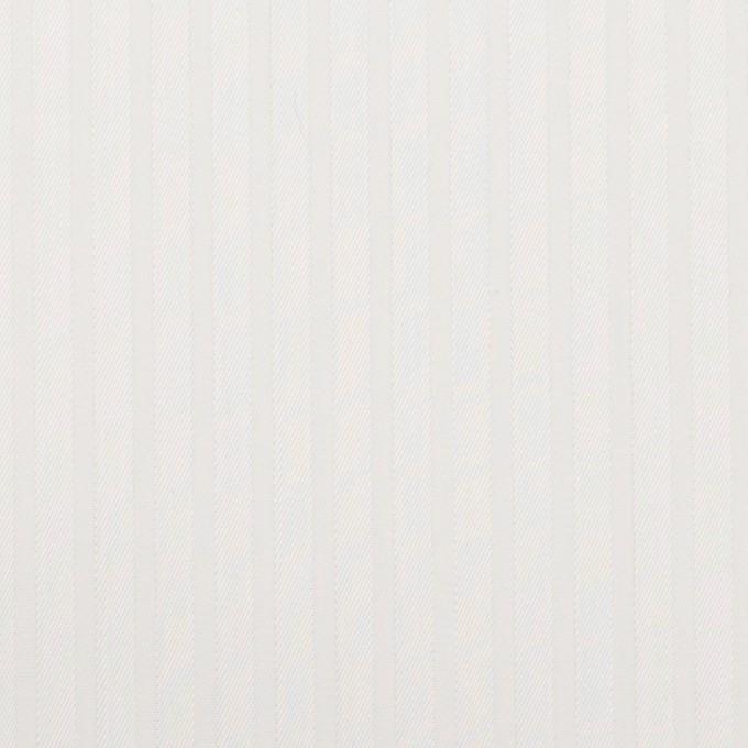 コットン×ストライプ(ホワイト)×ジャガード_全3色 イメージ1