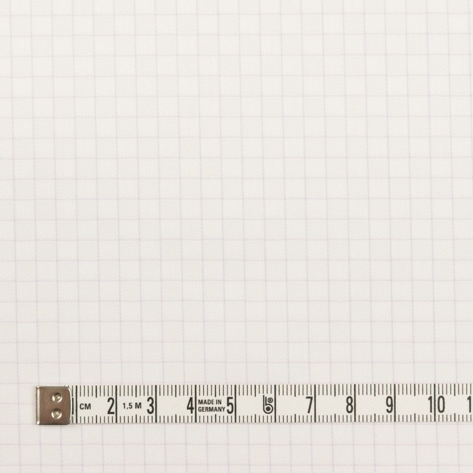 コットン&ポリエステル×チェック(パープル)×ジャガード_全2色 イメージ4