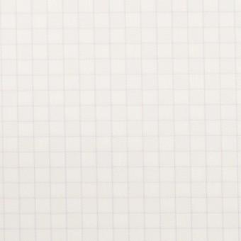 コットン&ポリエステル×チェック(パープル)×ジャガード_全2色