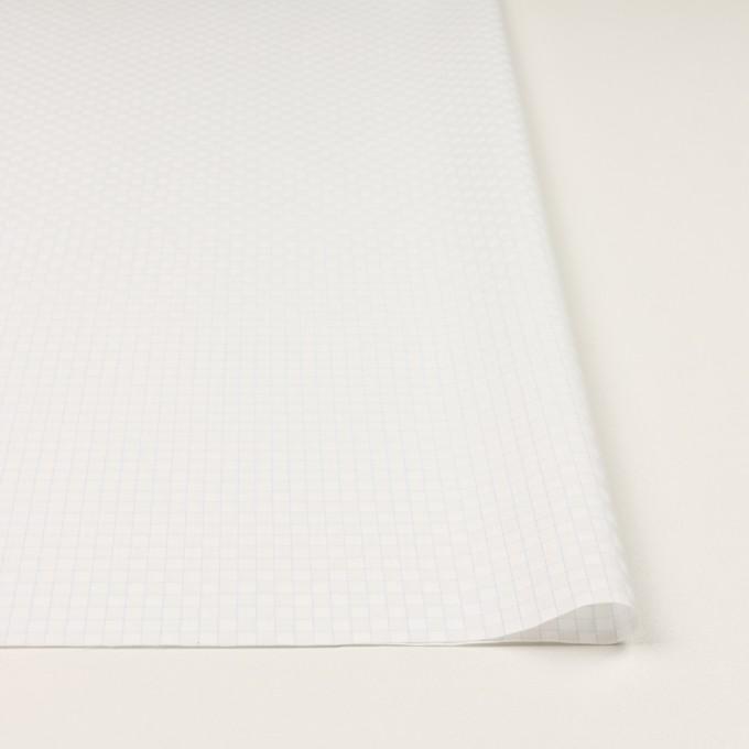 コットン&ポリエステル×チェック(サックス)×ジャガード_全2色 イメージ3