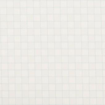 コットン&ポリエステル×チェック(サックス)×ジャガード_全2色