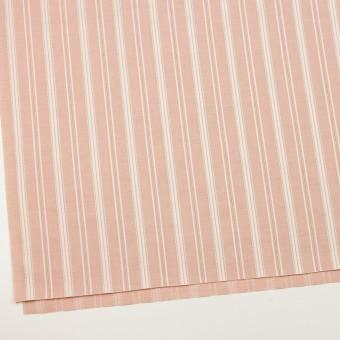 コットン×ストライプ(サーモンピンク)×シャンブレー・ジャガード_全2色 サムネイル2