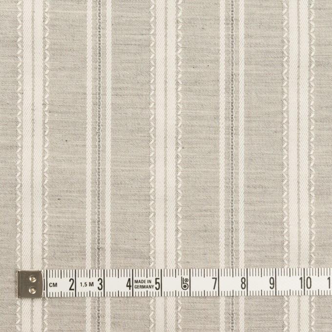 コットン×ストライプ(グレー)×シャンブレー・ジャガード_全2色 イメージ4