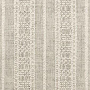 コットン×ストライプ(グレー)×ヨウリュウ・ジャガード_全3色