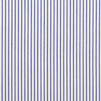 コットン×ストライプ(ブルー)×サージ_全2色 サムネイル1