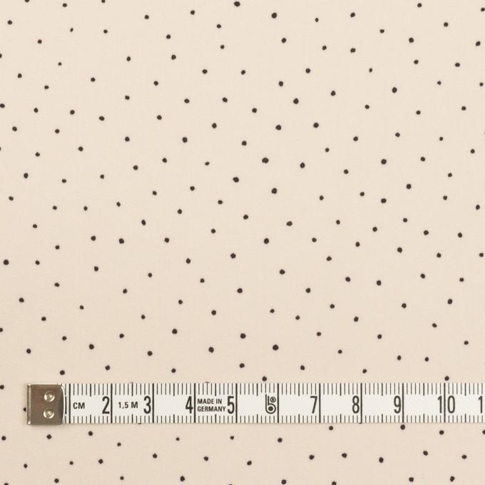 ポリエステル×ドット(エクリュ)×サテン_全2色 イメージ4