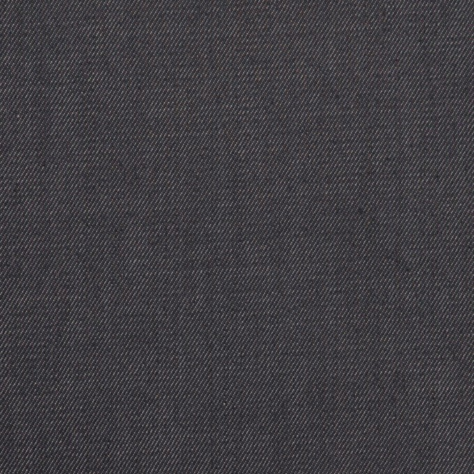 コットン&ポリウレタン×無地(インディゴ)×サージストレッチ イメージ1