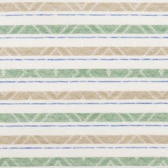 コットン×ボーダー(グリーン)×ジャガード_全3色